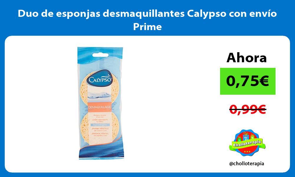 Duo de esponjas desmaquillantes Calypso con envío Prime