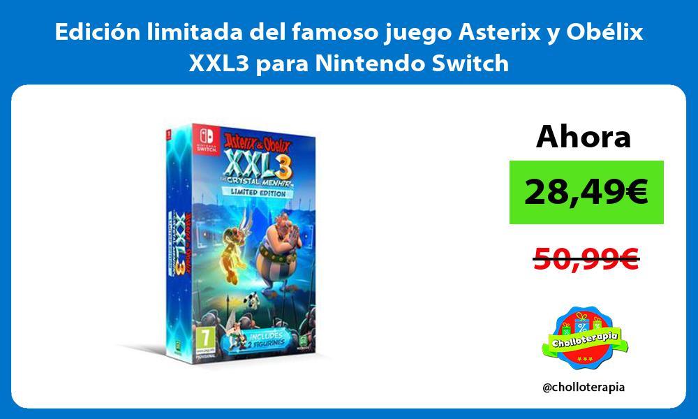 Edición limitada del famoso juego Asterix y Obélix XXL3 para Nintendo Switch