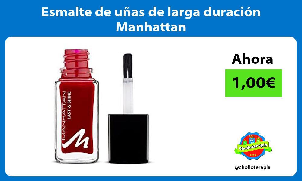 Esmalte de uñas de larga duración Manhattan