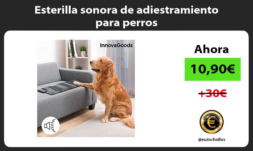Esterilla sonora de adiestramiento para perros
