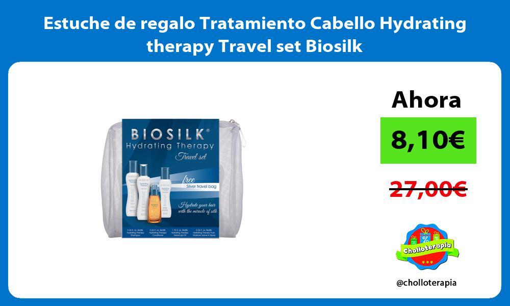 Estuche de regalo Tratamiento Cabello Hydrating therapy Travel set Biosilk