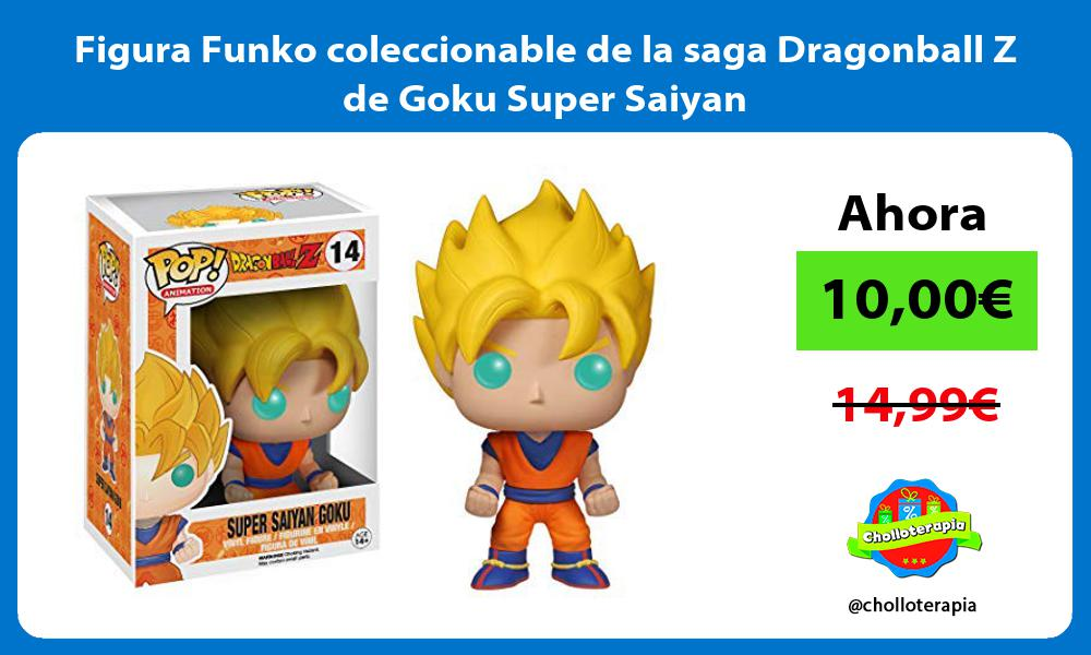 Figura Funko coleccionable de la saga Dragonball Z de Goku Super Saiyan