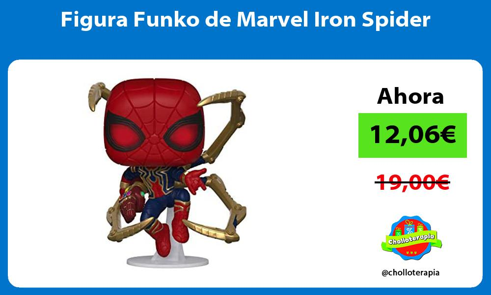 Figura Funko de Marvel Iron Spider