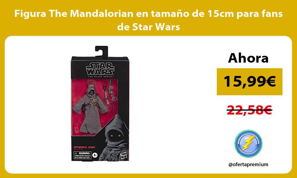 Figura The Mandalorian en tamaño de 15cm para fans de Star Wars
