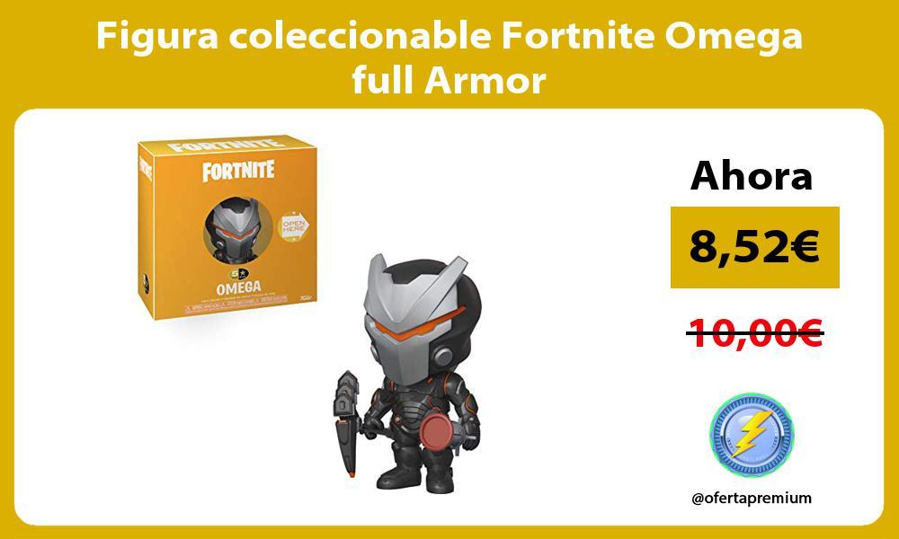 Figura coleccionable Fortnite Omega full Armor