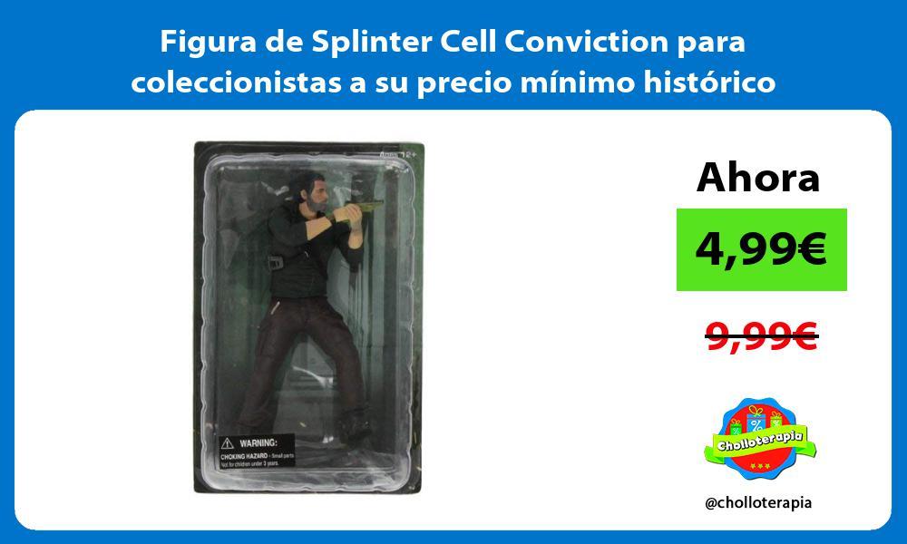 Figura de Splinter Cell Conviction para coleccionistas a su precio mínimo histórico