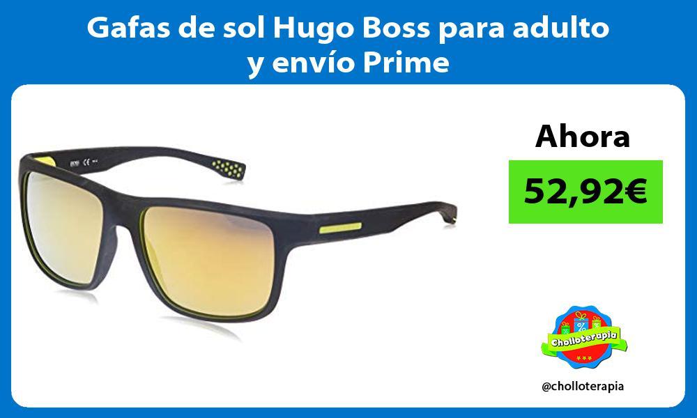 Gafas de sol Hugo Boss para adulto y envío Prime