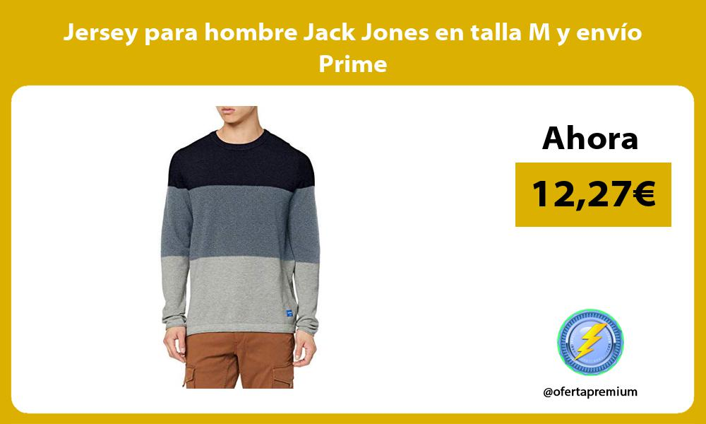 Jersey para hombre Jack Jones en talla M y envío Prime