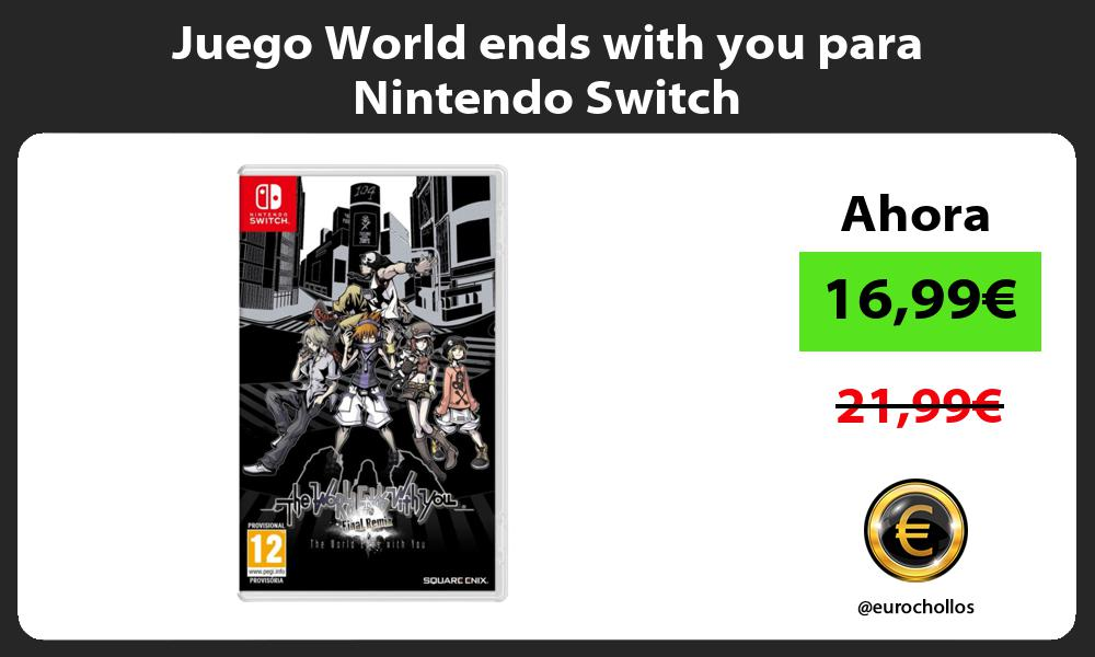 Juego World ends with you para Nintendo Switch