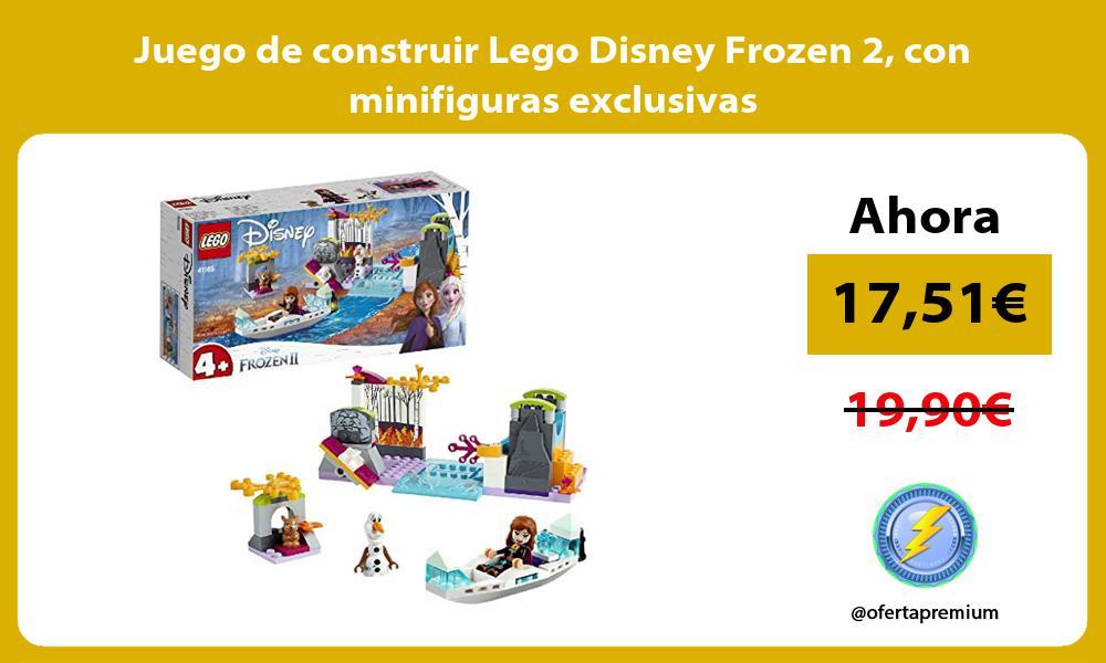 Juego de construir Lego Disney Frozen 2 con minifiguras exclusivas