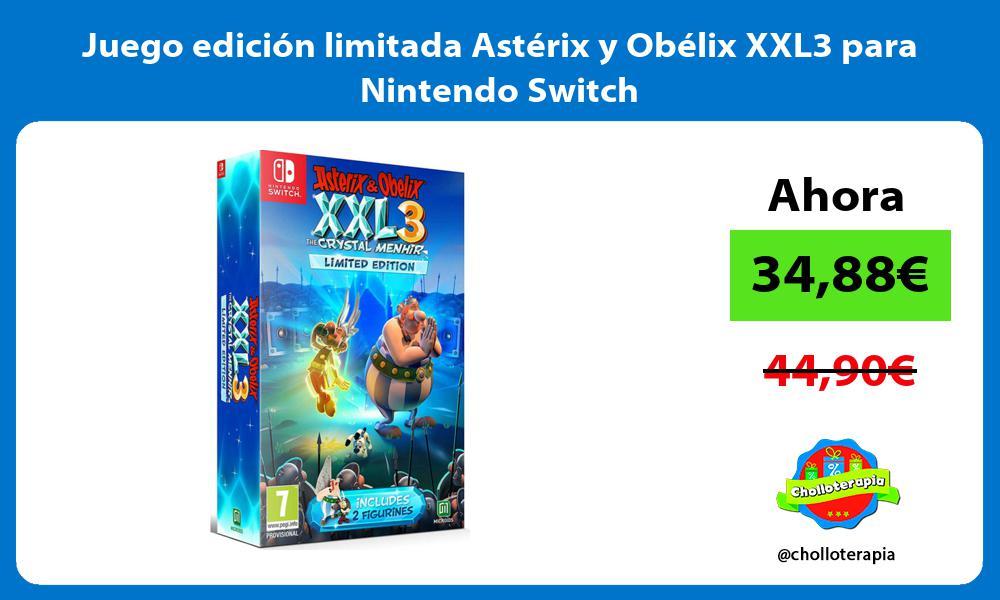 Juego edición limitada Astérix y Obélix XXL3 para Nintendo Switch