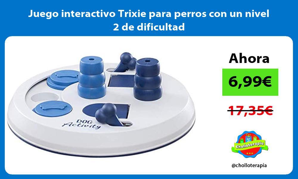 Juego interactivo Trixie para perros con un nivel 2 de dificultad