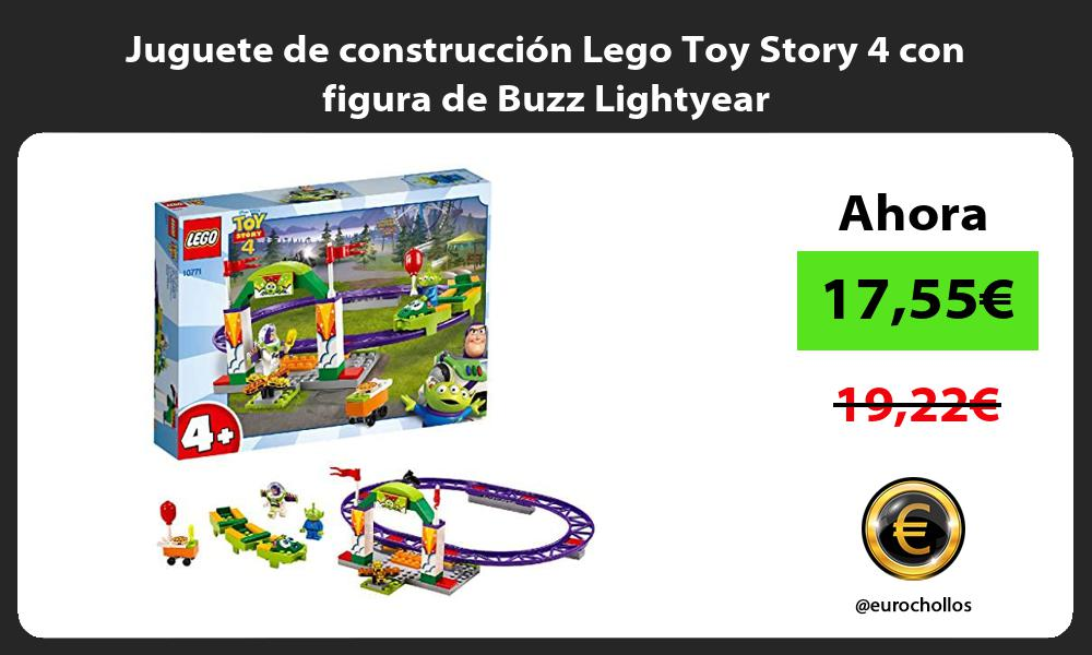 Juguete de construcción Lego Toy Story 4 con figura de Buzz Lightyear