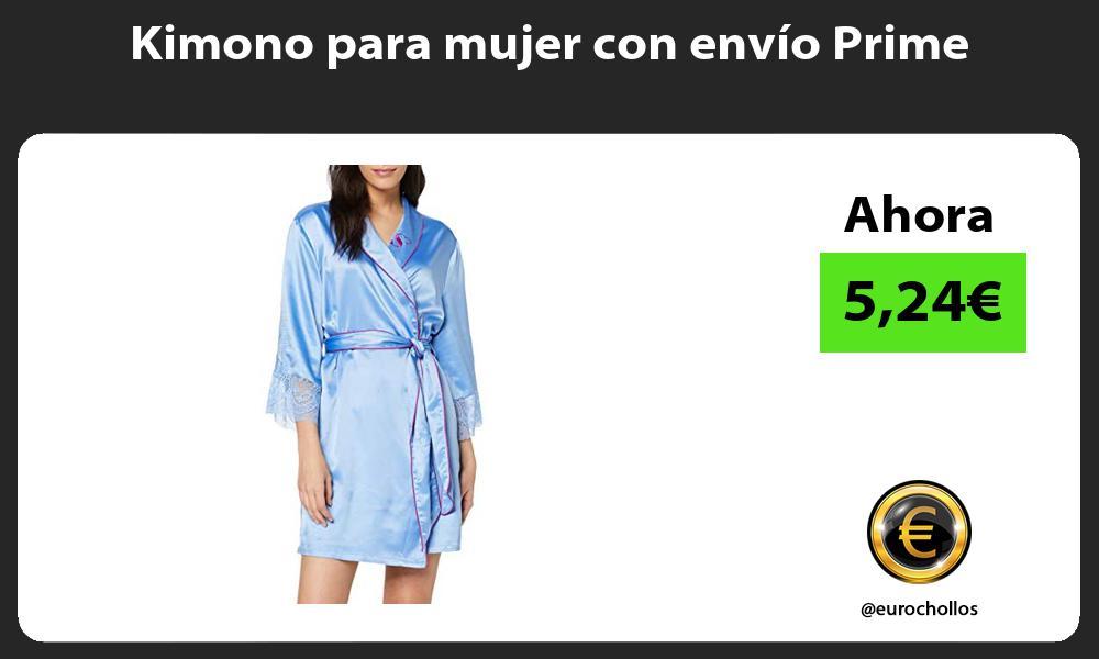 Kimono para mujer con envío Prime