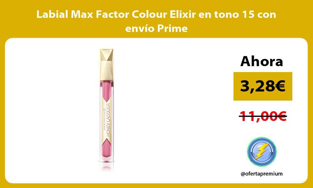 Labial Max Factor Colour Elixir en tono 15 con envío Prime