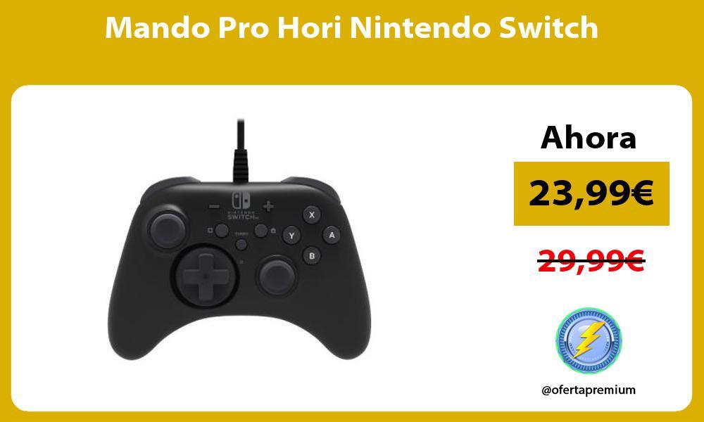 Mando Pro Hori Nintendo Switch