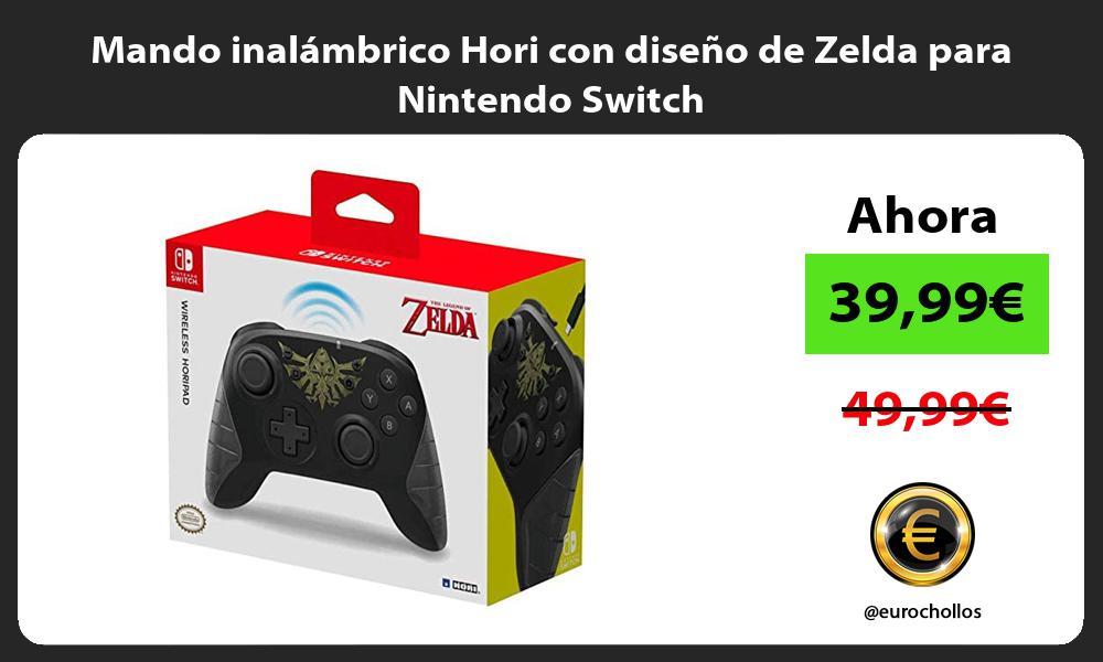 Mando inalámbrico Hori con diseño de Zelda para Nintendo Switch