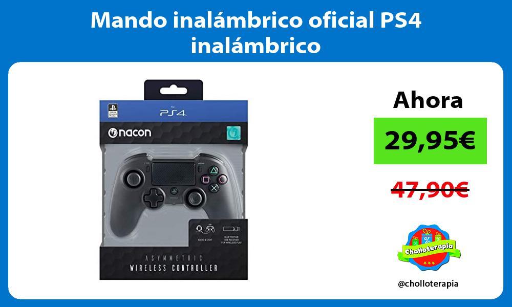 Mando inalámbrico oficial PS4 inalámbrico