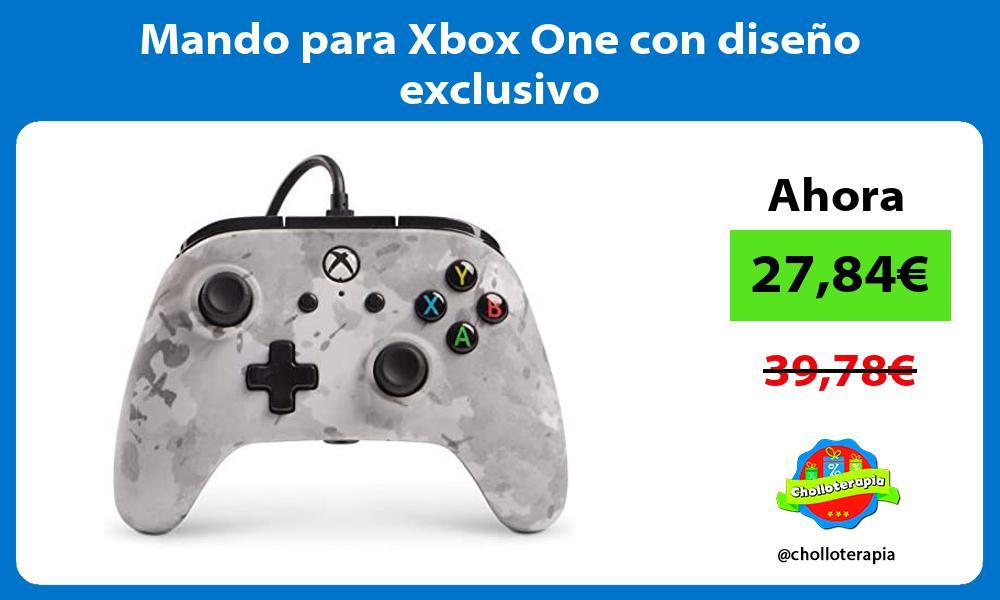 Mando para Xbox One con diseño exclusivo