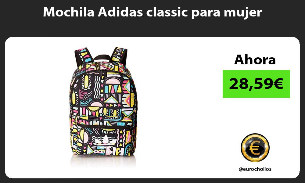 Mochila Adidas classic para mujer