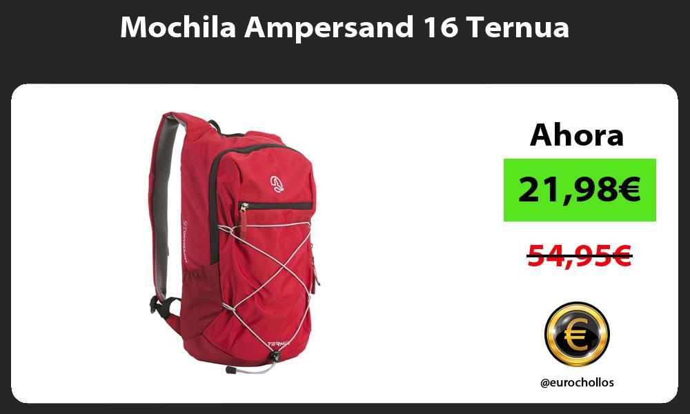 Mochila Ampersand 16 Ternua