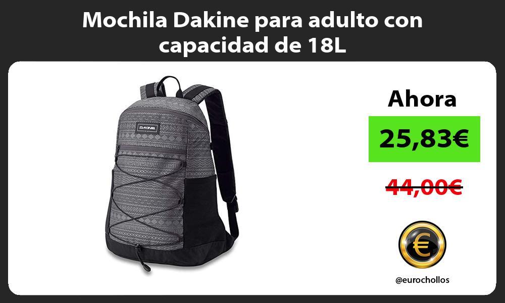 Mochila Dakine para adulto con capacidad de 18L