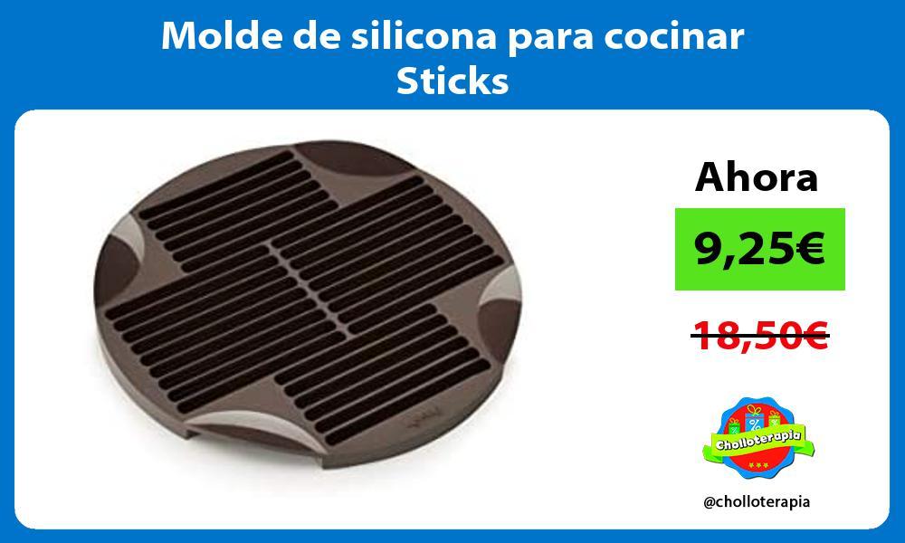 Molde de silicona para cocinar Sticks