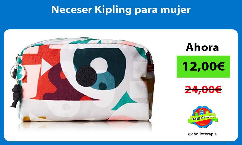 Neceser Kipling para mujer