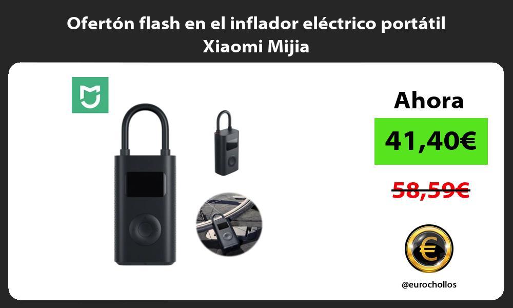 Ofertón flash en el inflador eléctrico portátil Xiaomi Mijia