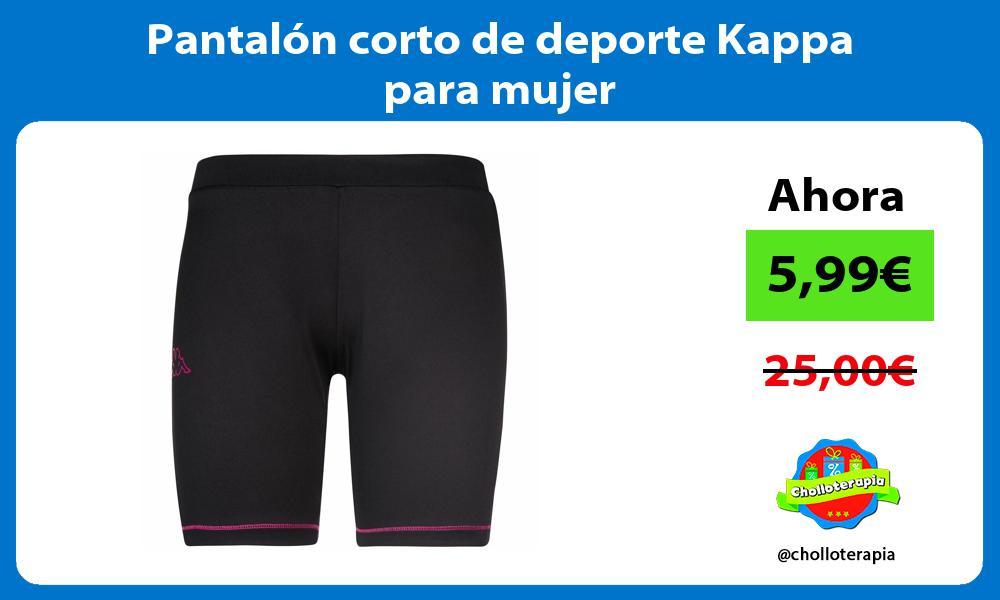 Pantalón corto de deporte Kappa para mujer