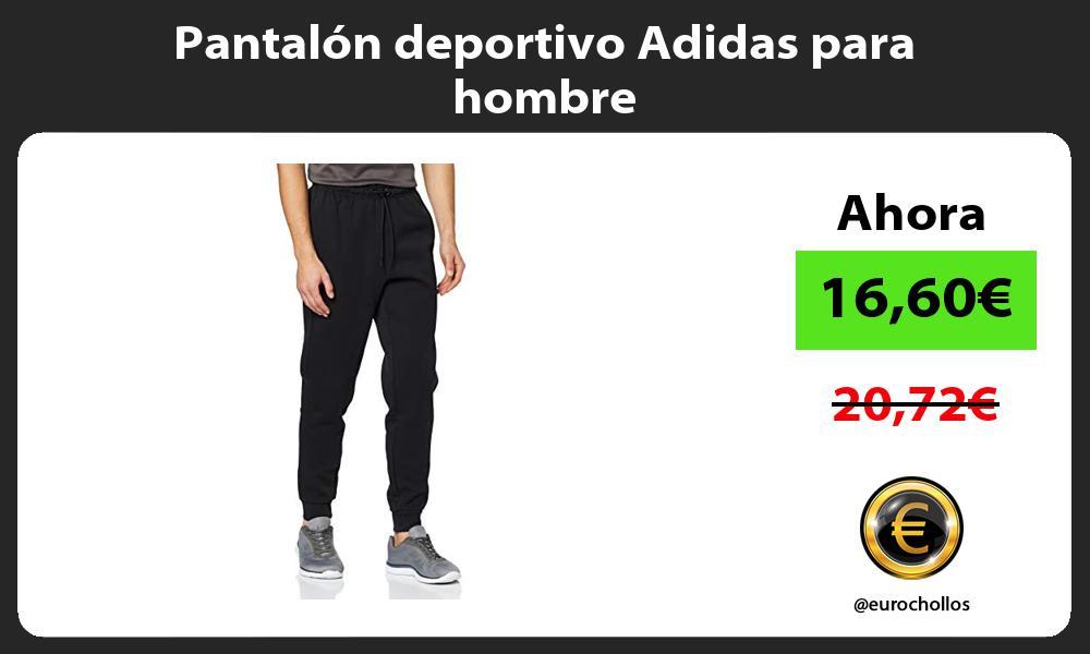 Pantalón deportivo Adidas para hombre