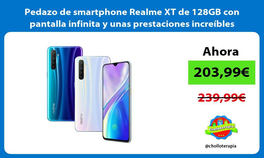 Pedazo de smartphone Realme XT de 128GB con pantalla infinita y unas prestaciones increíbles