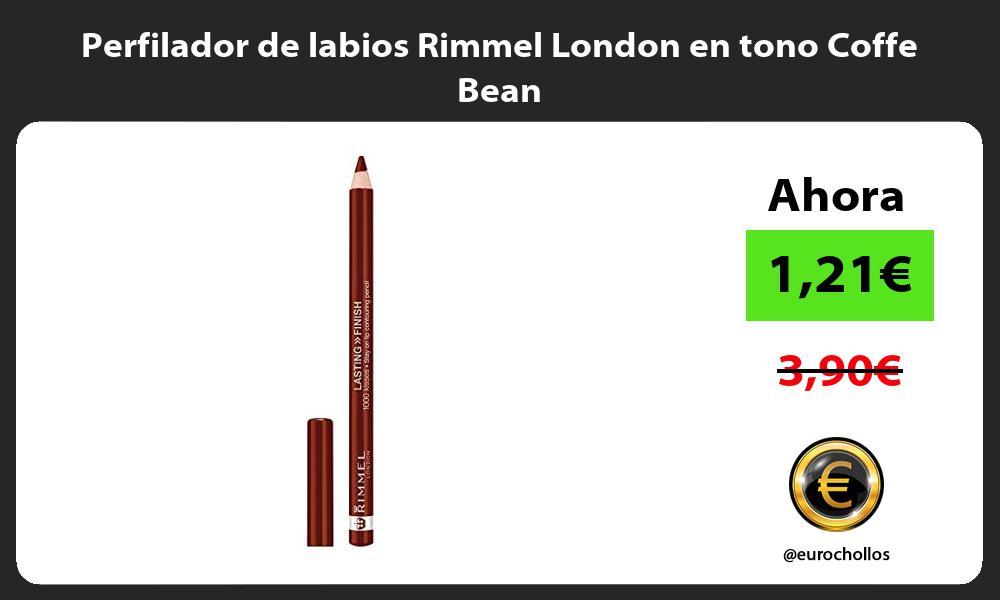 Perfilador de labios Rimmel London en tono Coffe Bean