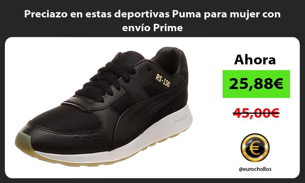 Preciazo en estas deportivas Puma para mujer con envío Prime