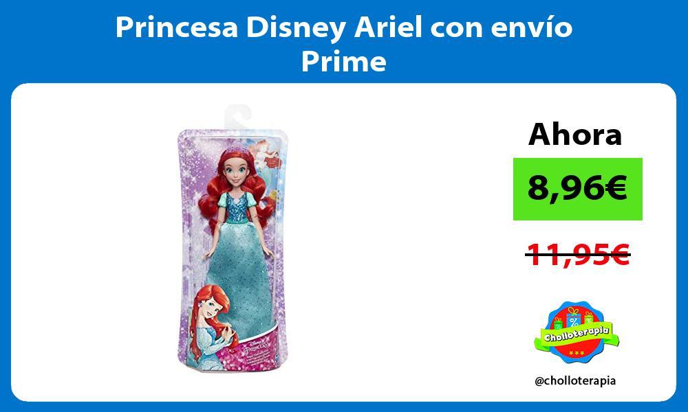 Princesa Disney Ariel con envío Prime