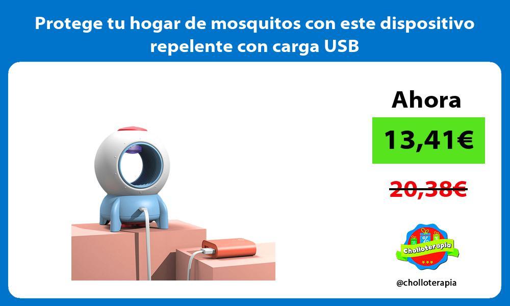 Protege tu hogar de mosquitos con este dispositivo repelente con carga USB