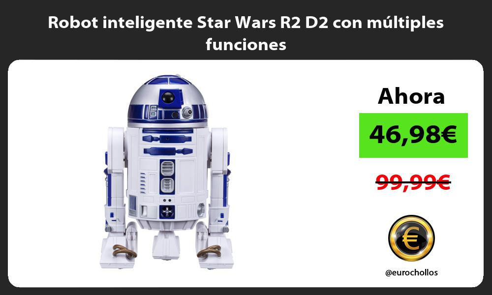 Robot inteligente Star Wars R2 D2 con múltiples funciones