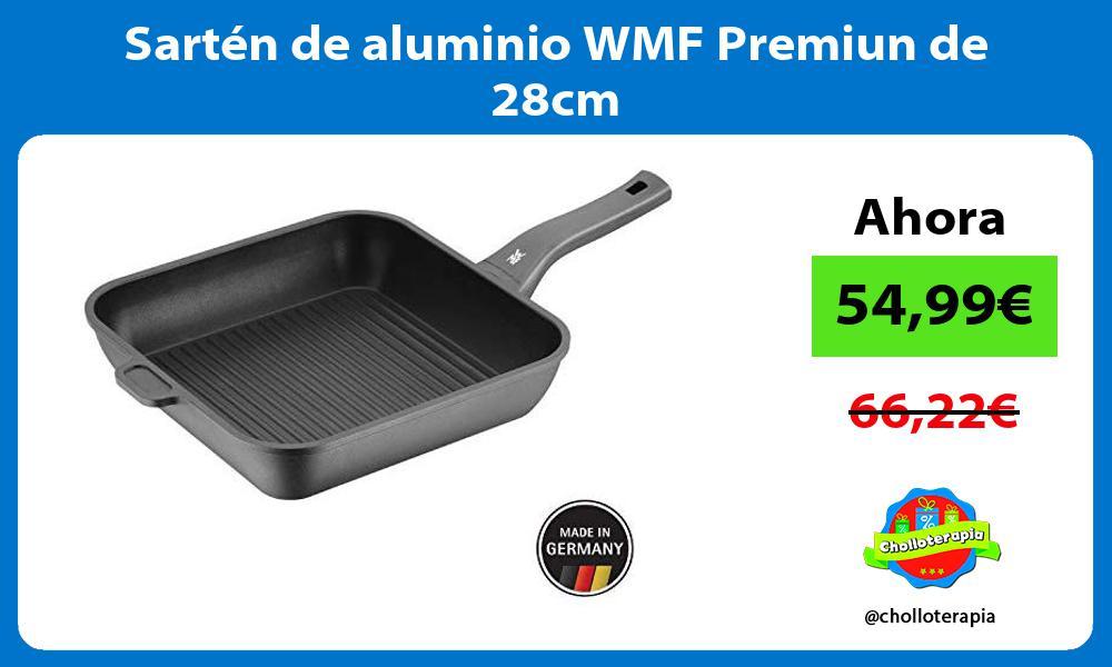 Sartén de aluminio WMF Premiun de 28cm