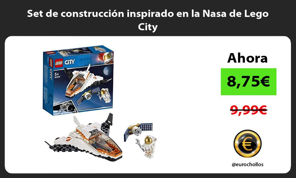Set de construcción inspirado en la Nasa de Lego City