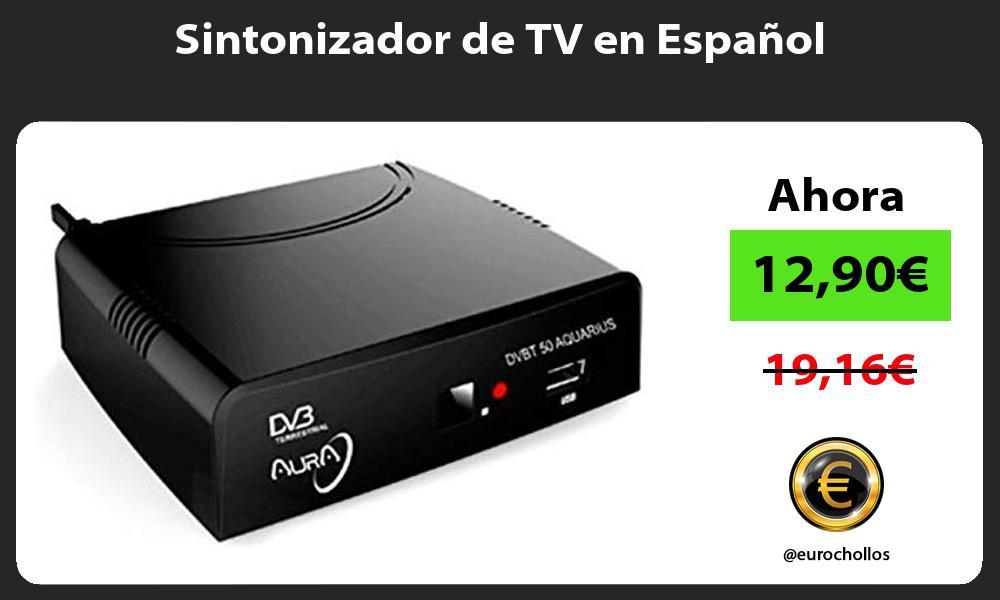 Sintonizador de TV en Español