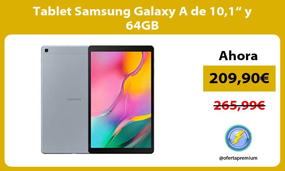 """Tablet Samsung Galaxy A de 101"""" y 64GB"""