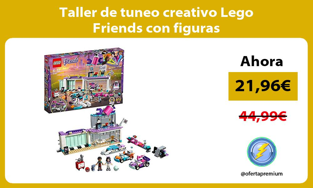 Taller de tuneo creativo Lego Friends con figuras