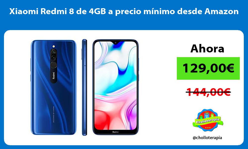 Xiaomi Redmi 8 de 4GB a precio mínimo desde Amazon
