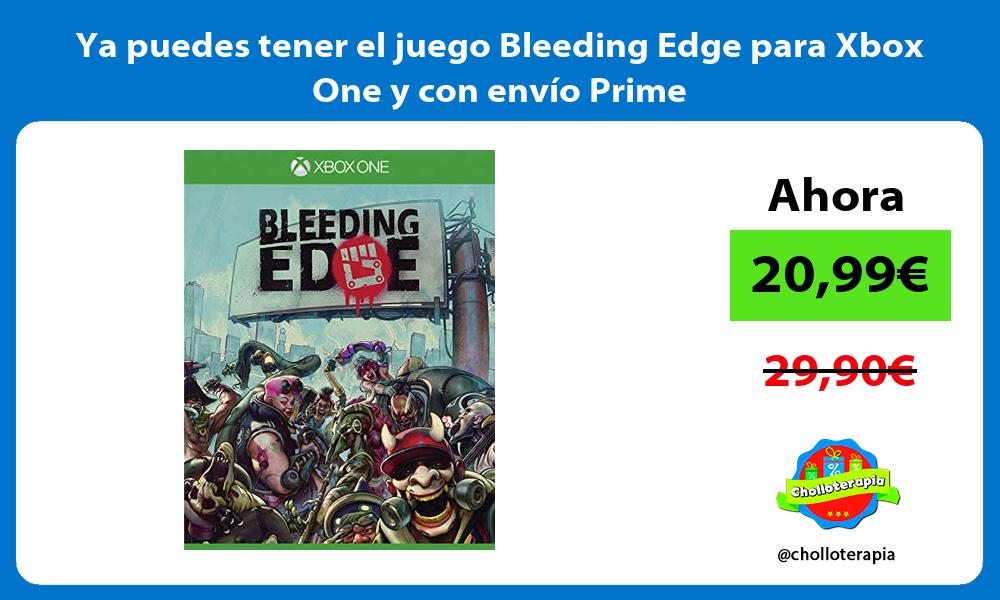 Ya puedes tener el juego Bleeding Edge para Xbox One y con envío Prime