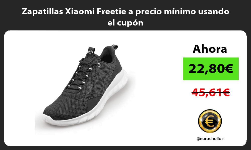 Zapatillas Xiaomi Freetie a precio mínimo usando el cupón