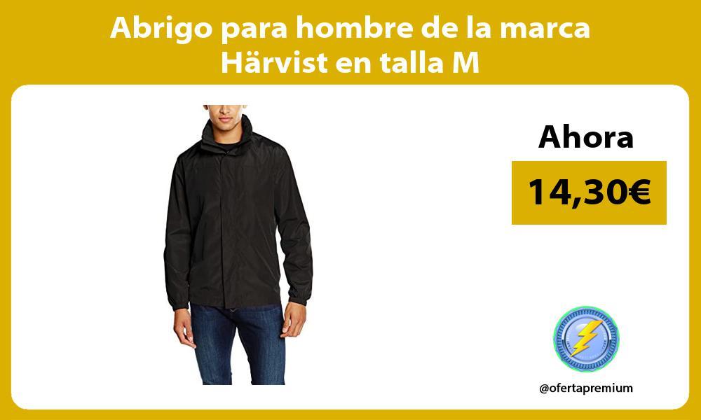 Abrigo para hombre de la marca Härvist en talla M