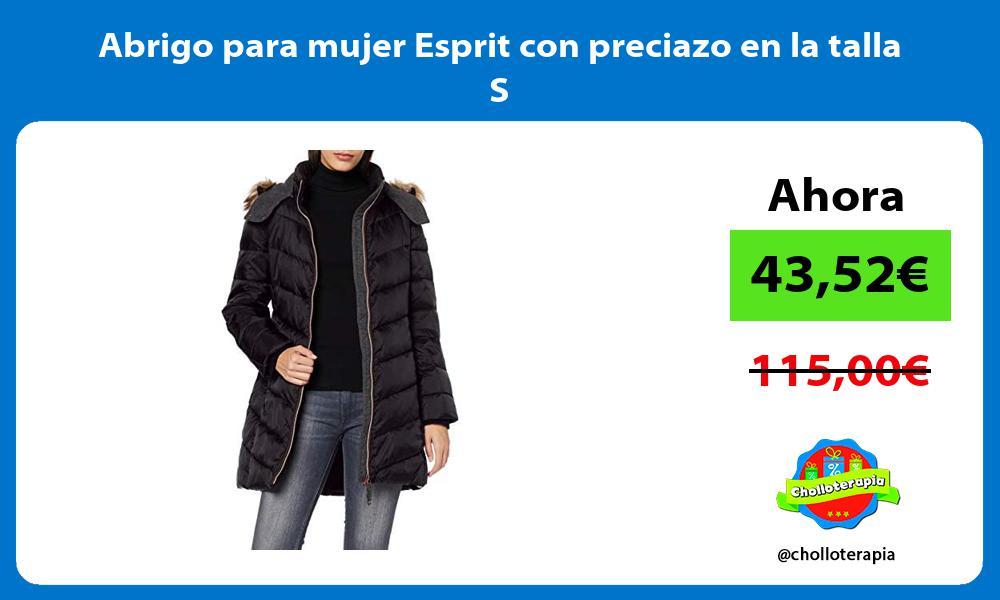 Abrigo para mujer Esprit con preciazo en la talla S