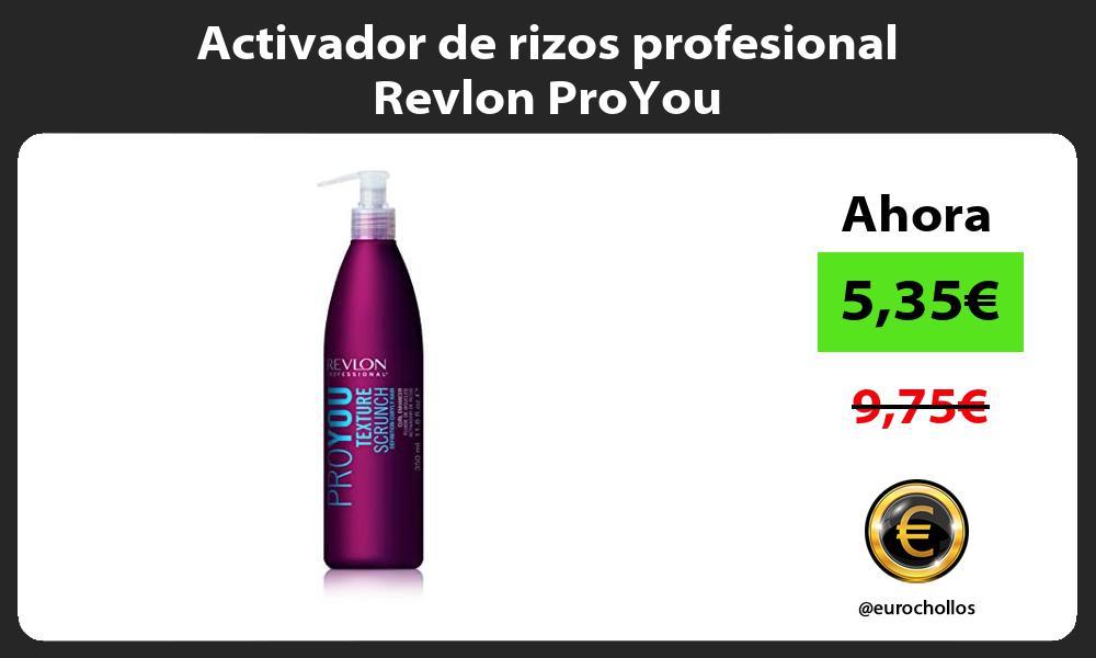 Activador de rizos profesional Revlon ProYou