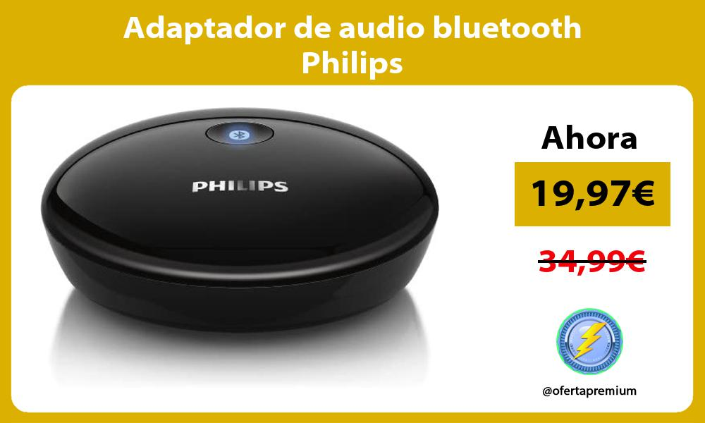 Adaptador de audio bluetooth Philips