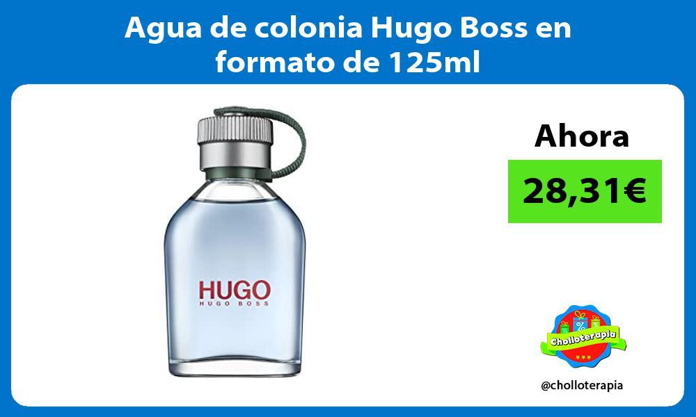 Agua de colonia Hugo Boss en formato de 125ml